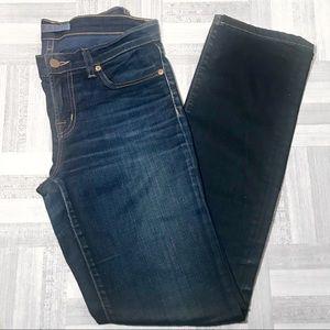 J Brand Cigarette Leg Dark Wash Jeans Size 26